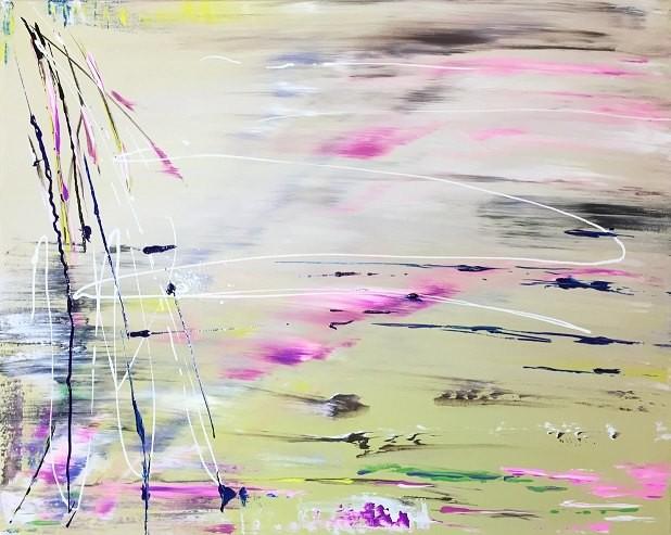 Абстракция 40x50 Холст, акрил
