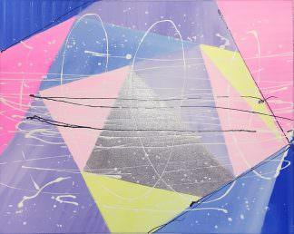 Геометрия 40x50 Холст, акрил