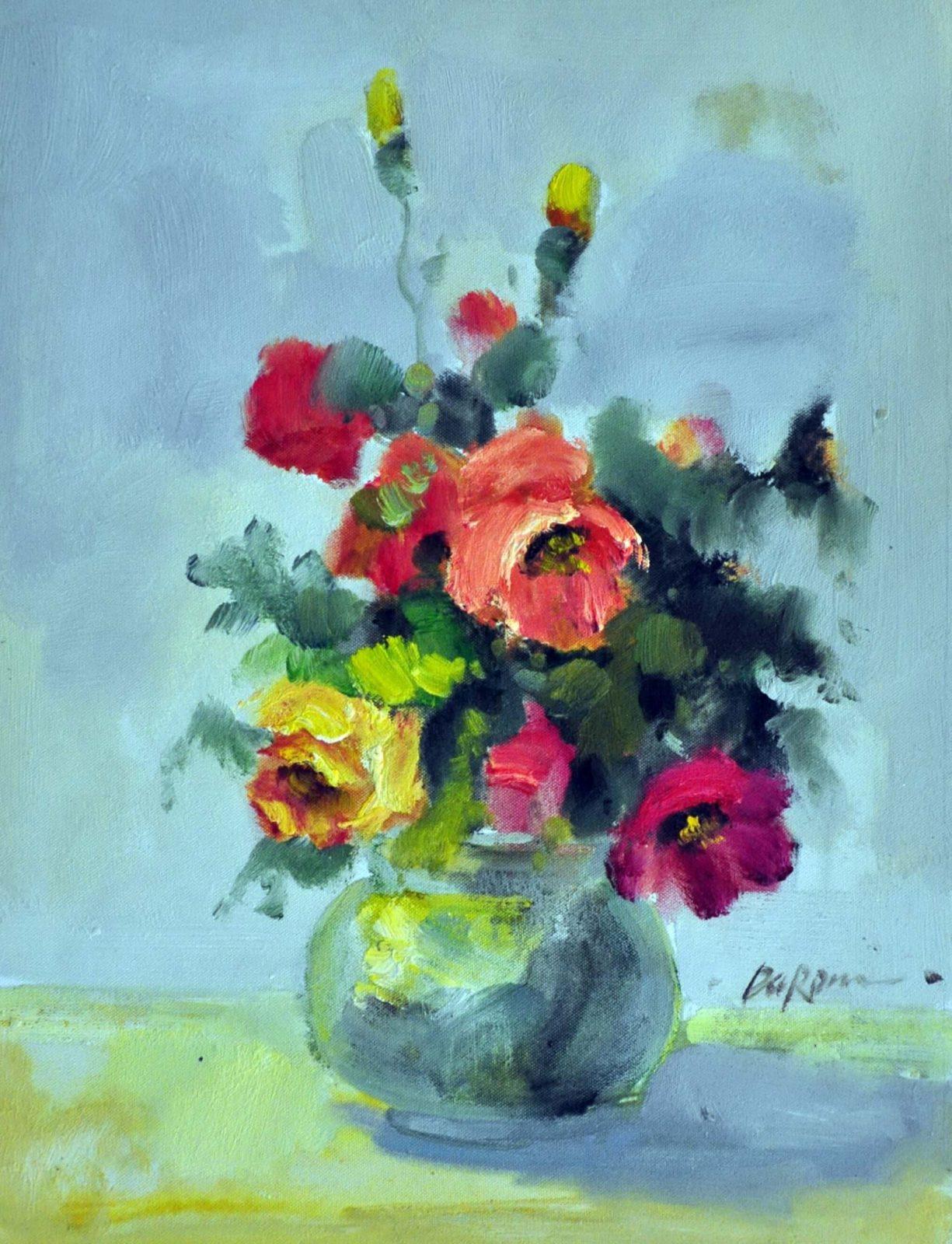 «Букет для мамы» картина 30х40 арт. 3Ц3
