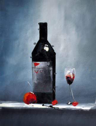 «Вино» картина 30х40 арт. 3Ц6
