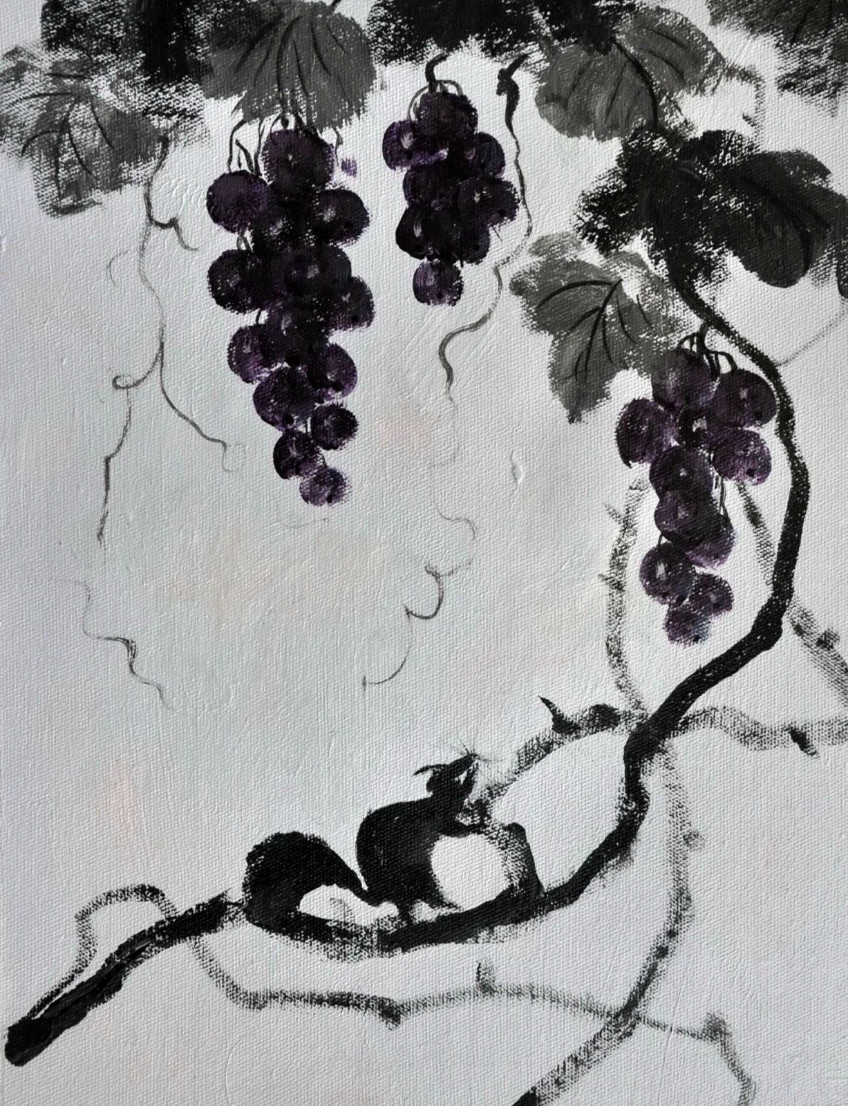 «Виноградная лоза» картина 30х40 арт. 3Ц9