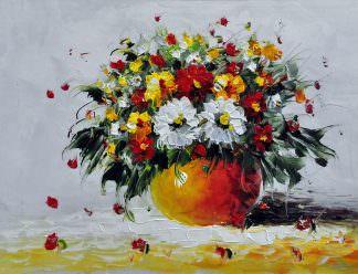 «Букет полевых цветов» картина 30х40 арт. 3Ц19