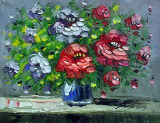 «Букет цветов» картина 30х40 арт. 3Ц26