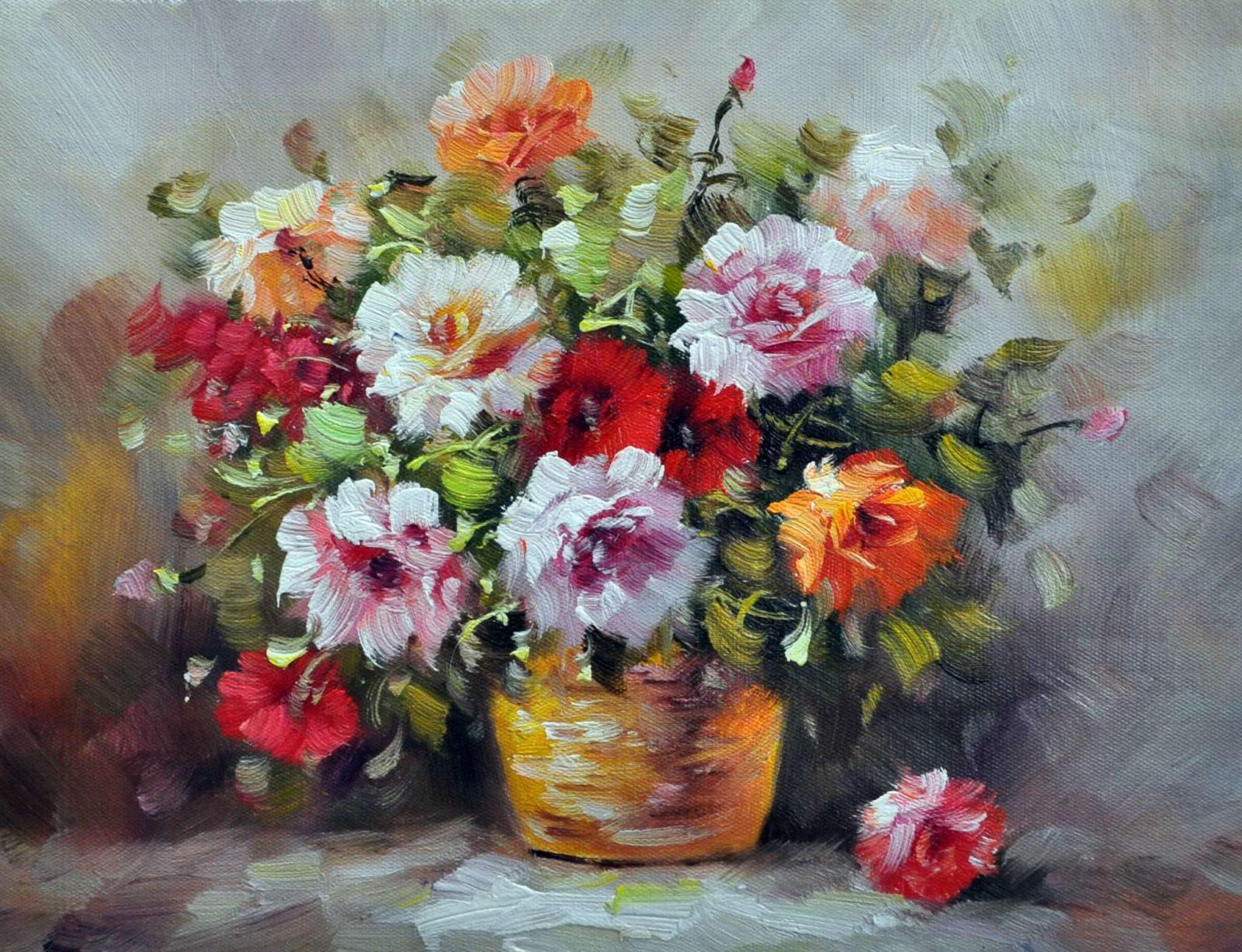 «Букет роз» картина 30х40 арт. 3Ц36