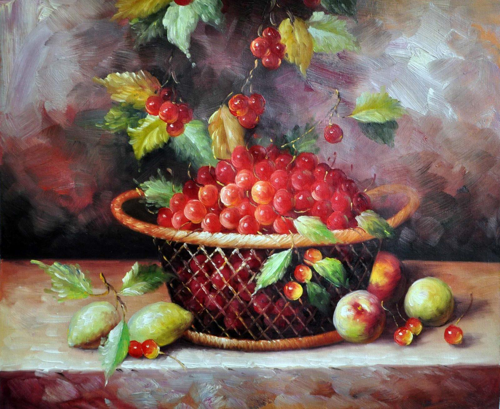 «Черешня» картина 50х60 арт. Ц094