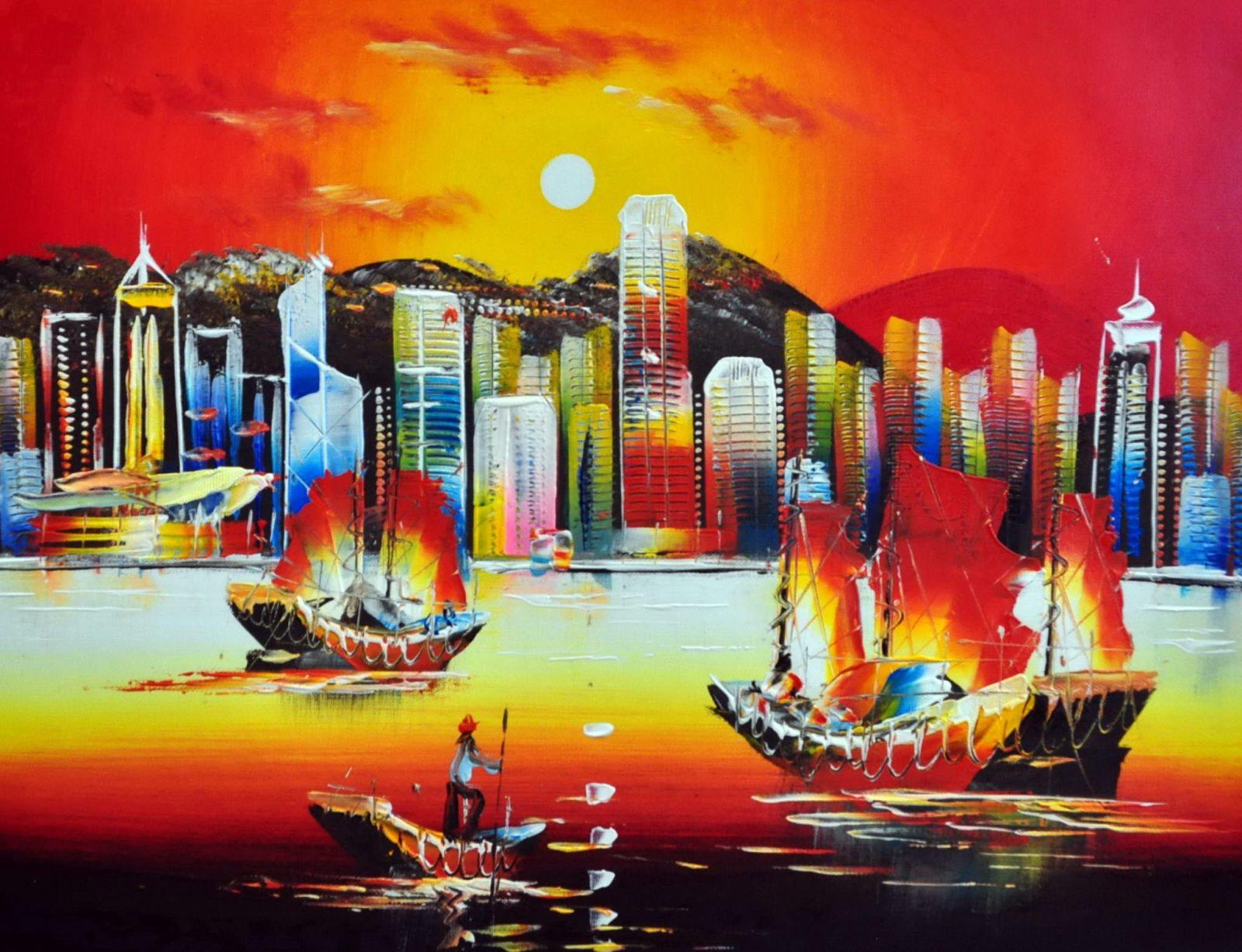 «Гонконг» картина 30х40 арт.3ГР1