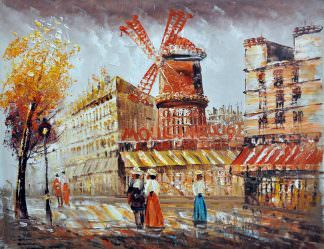 «Мулен Руж» картина 30х40 арт.3ГР6