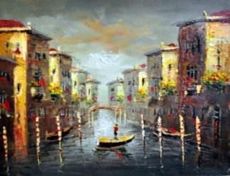 «Утро в Венеции» картина 30х40 арт.3ГР10