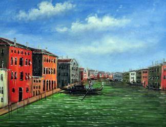 «Гранд-канал» картина 30х40 арт.3ГР33