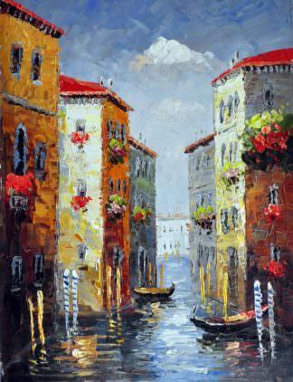 «Каналы Венеции» картина 30х40 арт.3ГР63