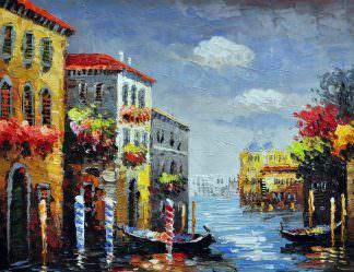 «Каналы Венеции» картина 30х40 арт.3ГР70