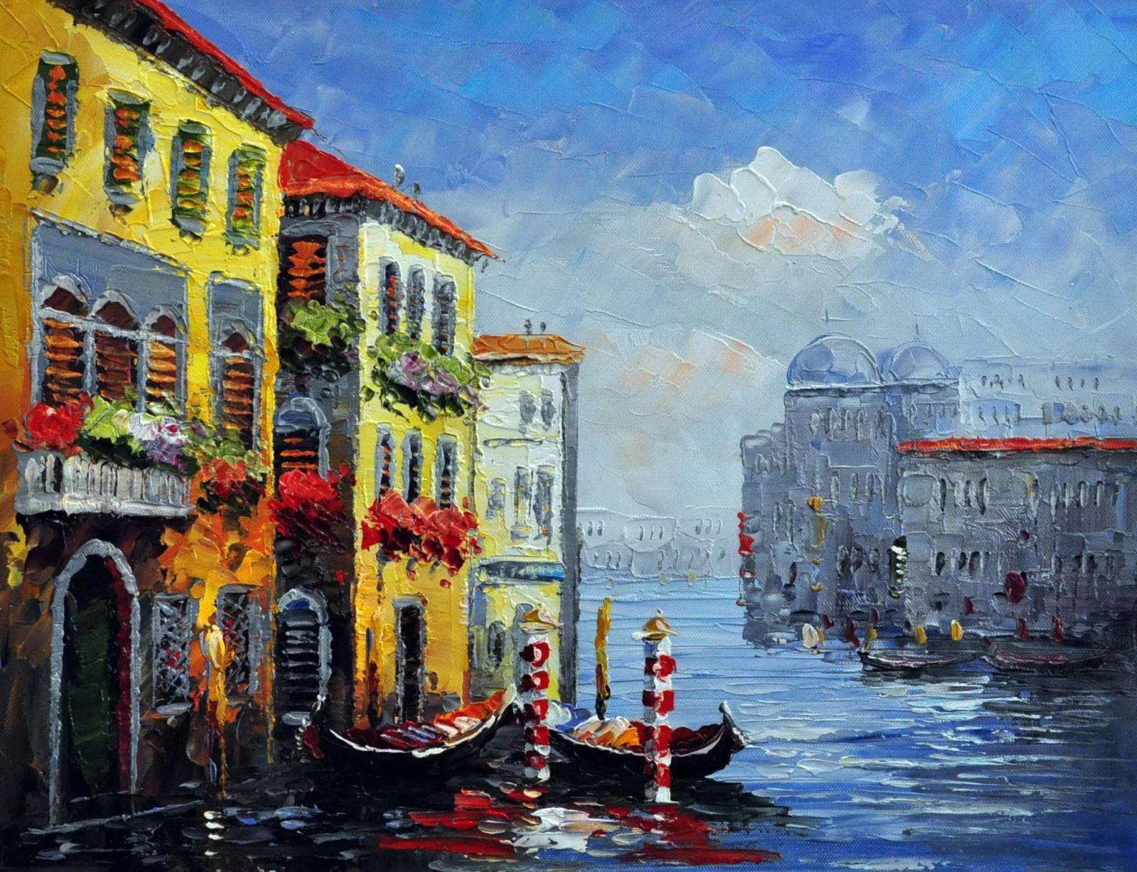 «Каналы Венеции» картина 30х40 арт.3ГР72