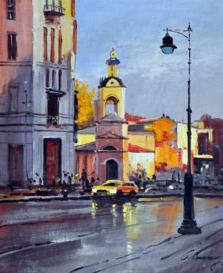 «Московские улочки»  картина 50х60 арт. 5ГР42