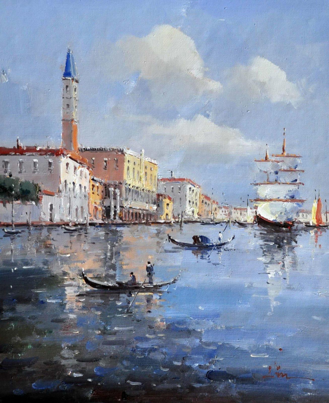 «Виды Венеции» картина 50х60 арт. 5ГР49