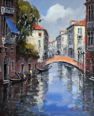 «Каналы Венеции» картина 50х60 арт. 5ГР51