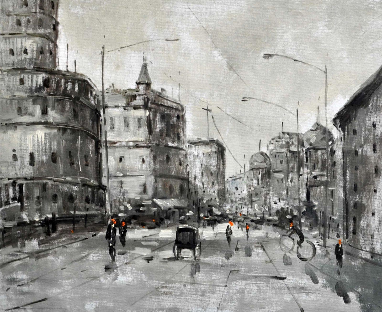 «Мегаполис» картина 50х60 арт. 5ГР53