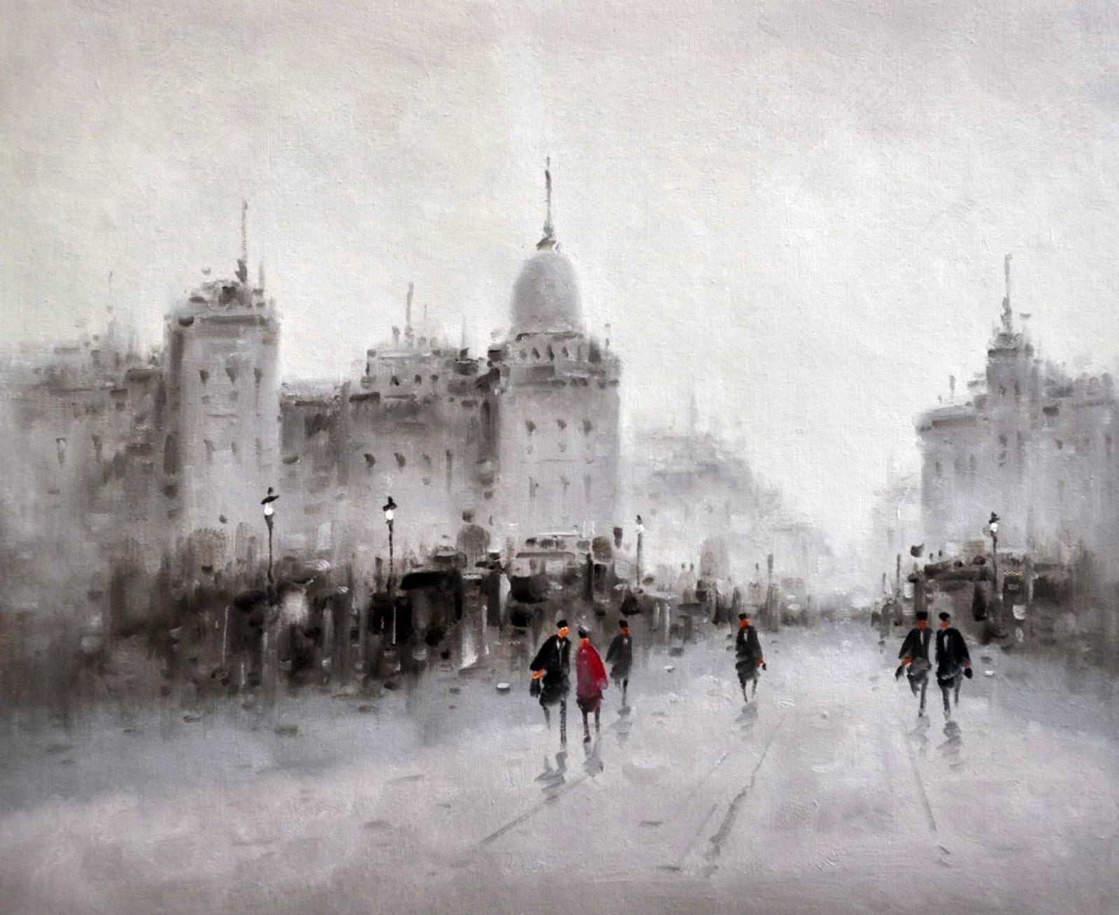 «Улицы Москвы» картина 50х60 арт. 5ГР55