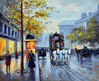 «Городской пейзаж» картина 50х60 арт. 5ГР56
