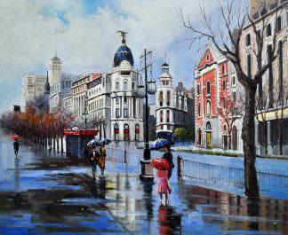 «Мадрид. Испания» картина 50х60 арт. 5ГР57