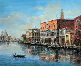 «Венеция» картина 50х60 арт. 5ГР62