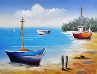 «Песчаный берег» картина 30х40 арт.3Л1