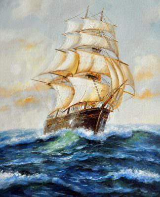 «Парусник» картина 50х60 арт. 5Л41