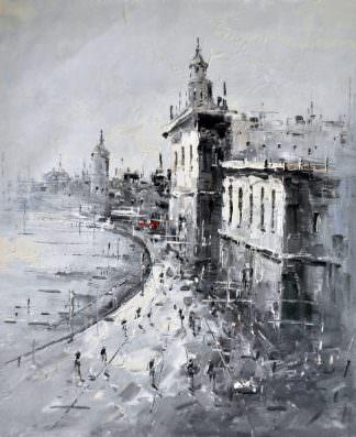 «Мегаполис» картина 50х60 арт. 5М4