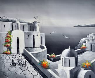 «Санторини» картина 50х60 арт. 5М9