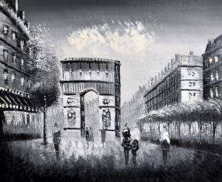 «Триумфальная арка» картина 50х60 арт. 5М11