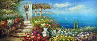 «Средиземноморье» картина 30х70 арт.7Р1