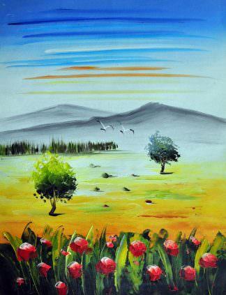 «Пейзаж» картина 30х40 арт.3П6