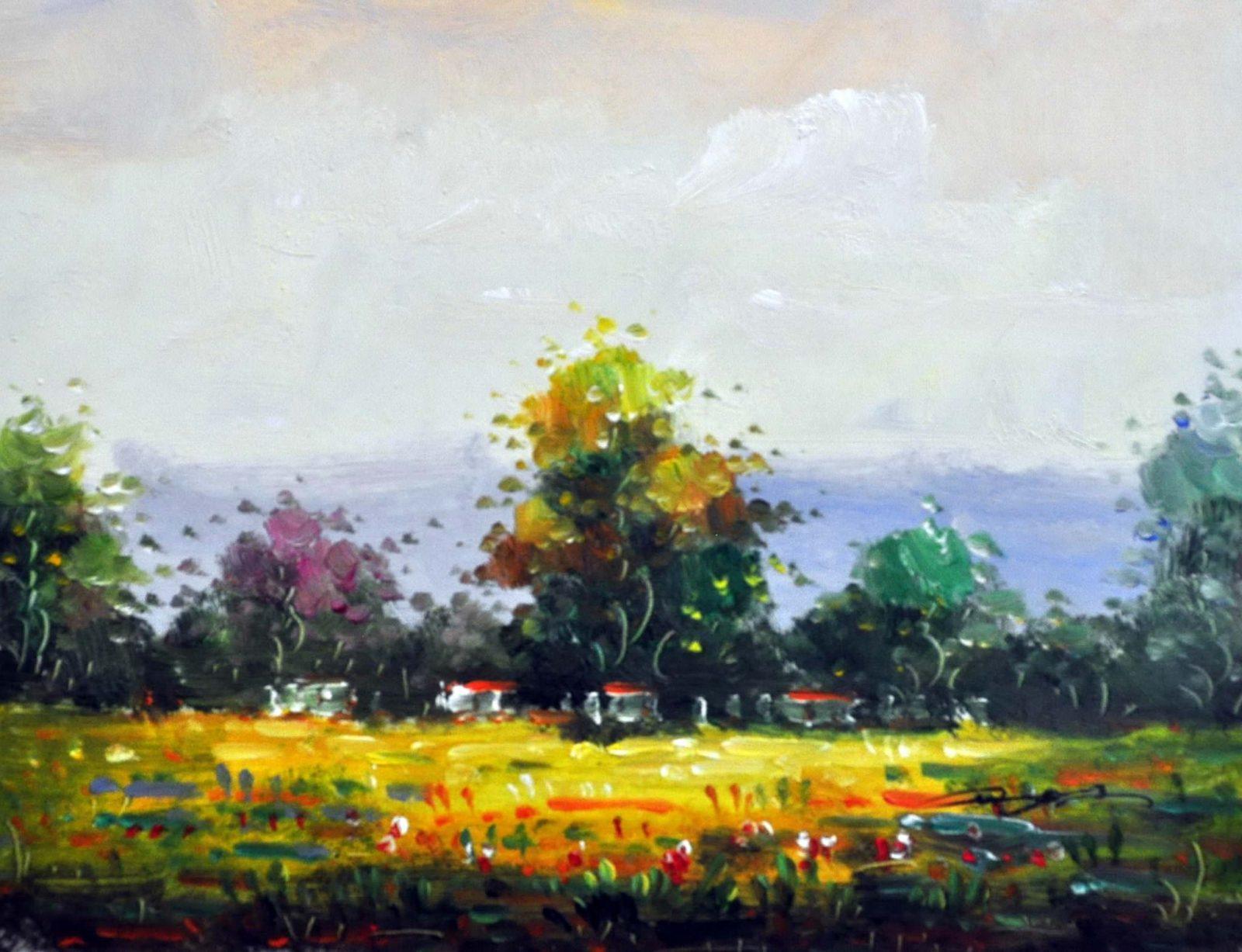 «Родные просторы» картина 30х40 арт.3П15