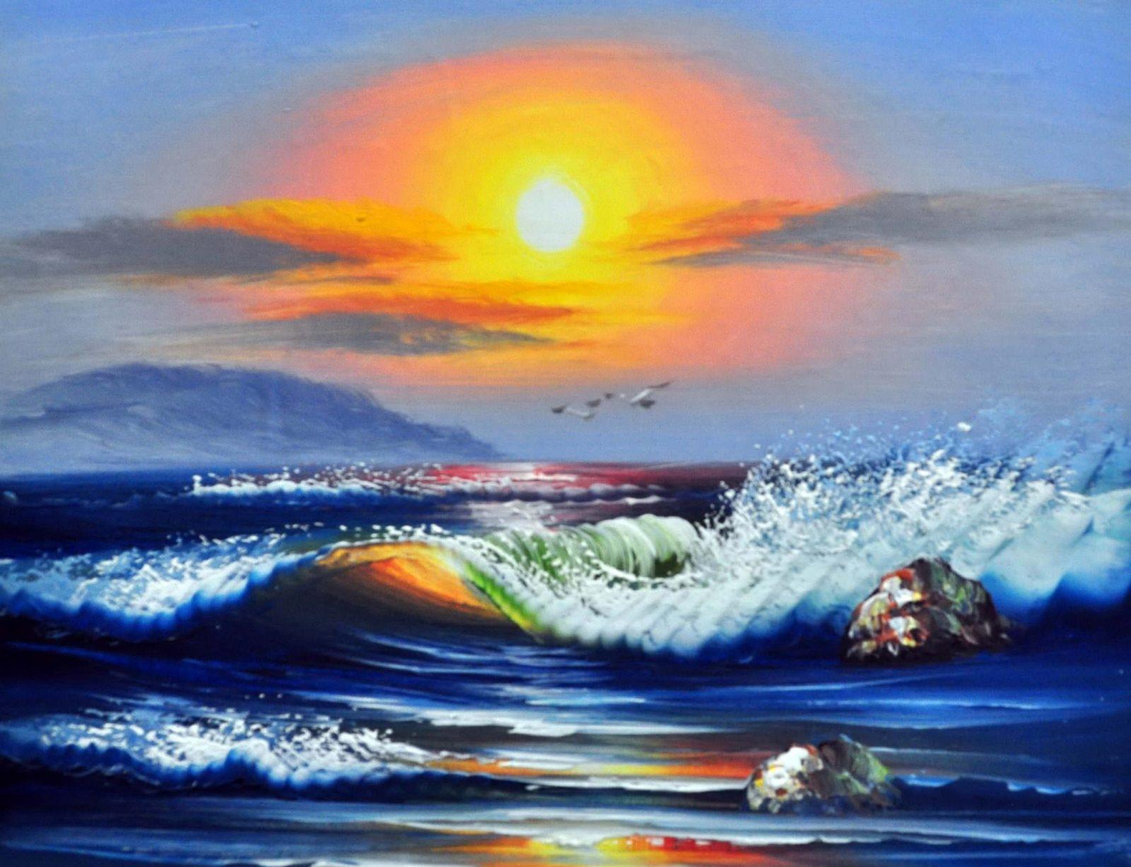 «Море» картина 30х40 арт.3П21