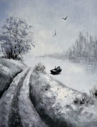 «Пейзаж» картина 30х40 арт.3П33