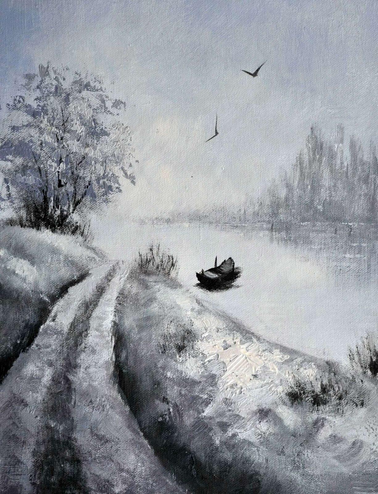 «Пейзаж» картина 30х40 арт.3П033