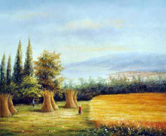«Уборка урожая» картина 50х60 арт. 5П026