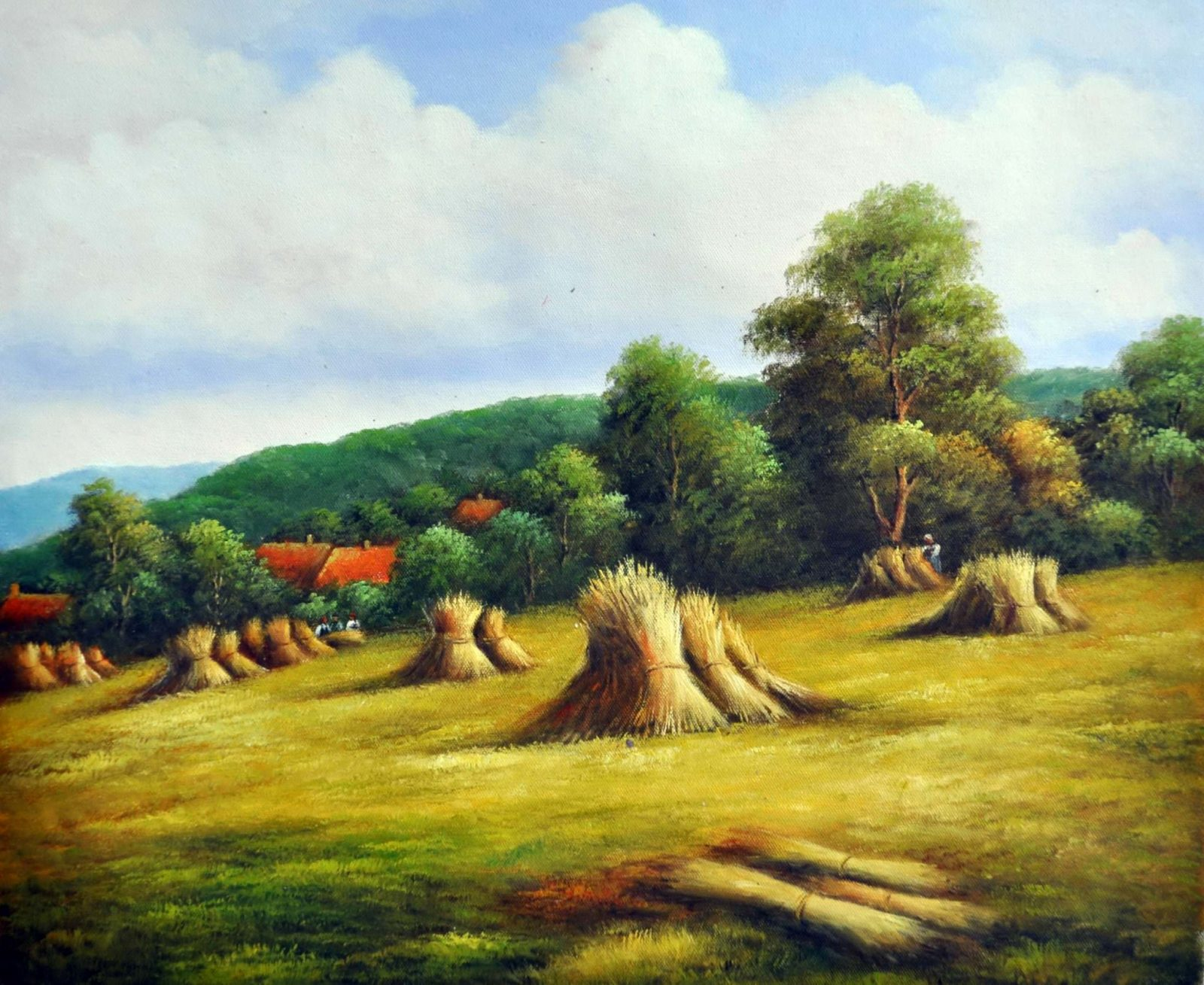 «Золотая нива» картина 50х60 арт. 5П028