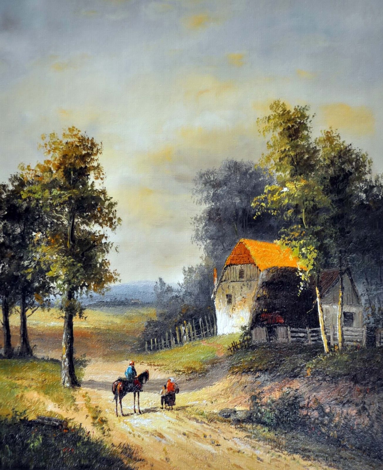 «Встреча» картина 50х60 арт. 5П52