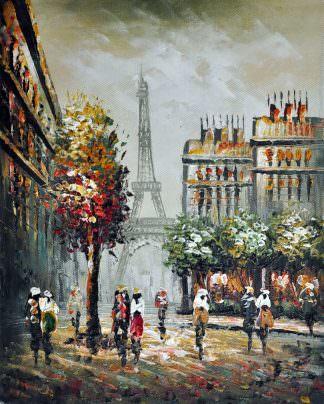 «Париж» картина 20х25 арт.2Е21