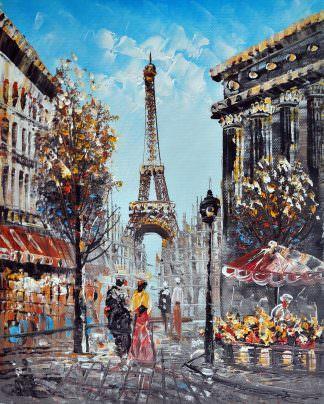 «Париж» картина 20х25 арт.2Е23