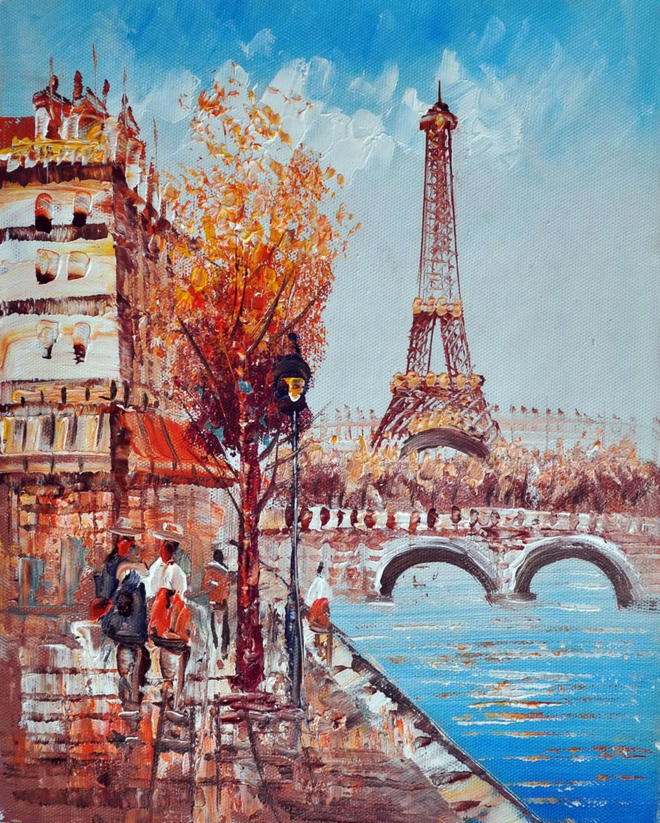 «Париж» картина 20х25 арт.2Е25