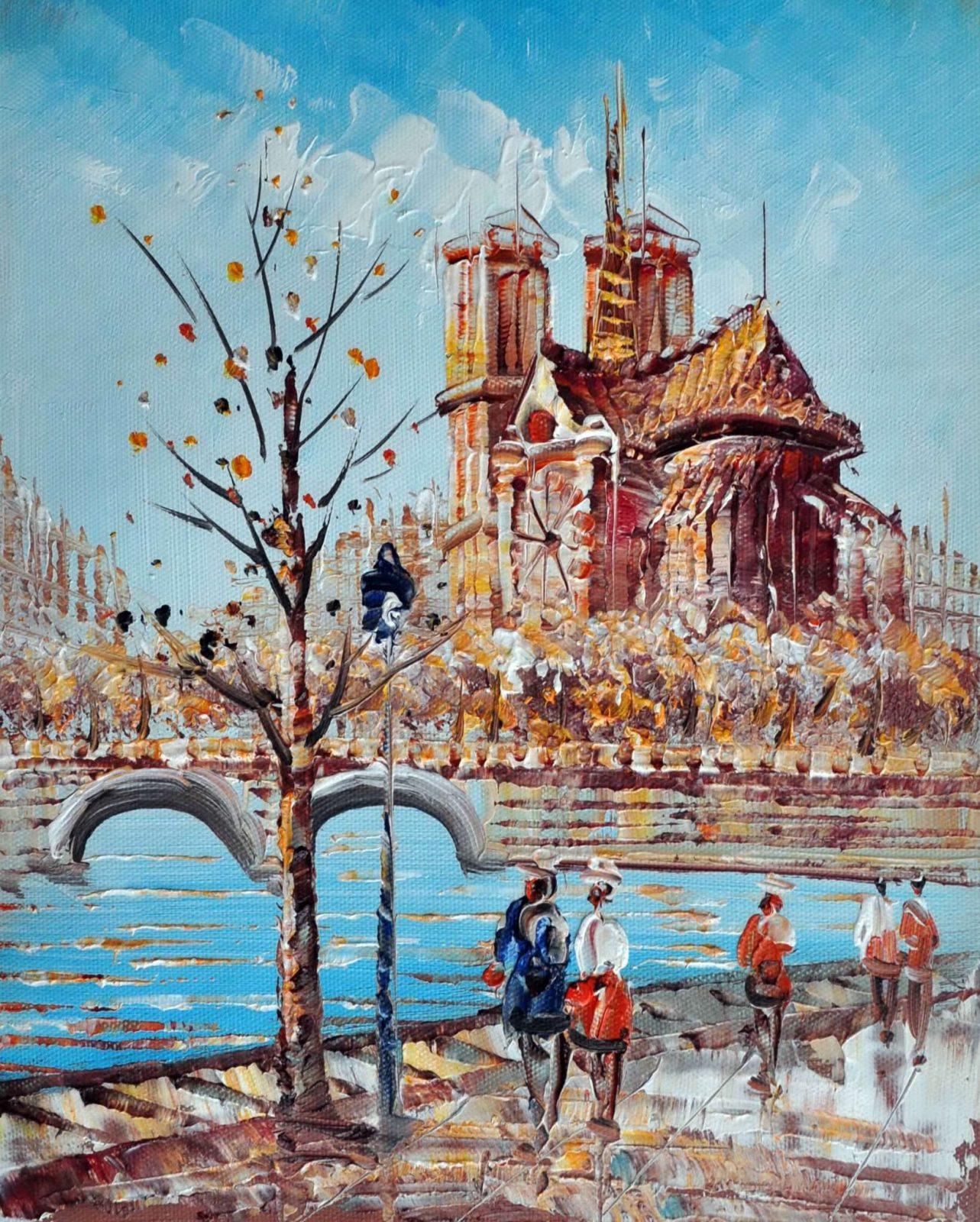 «Нотр-Дам» картина 20х25 арт.2Е29