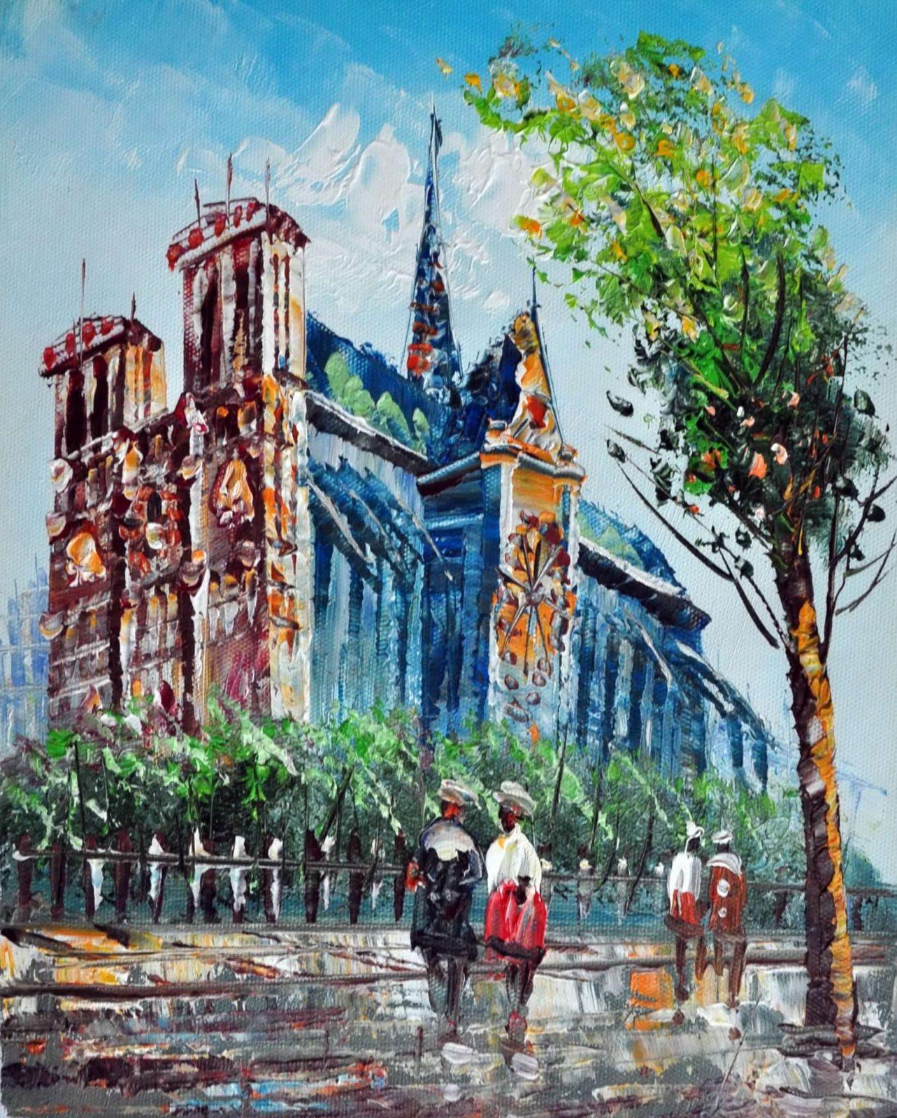 «Нотр-Дам» картина 20х25 арт.2Е30