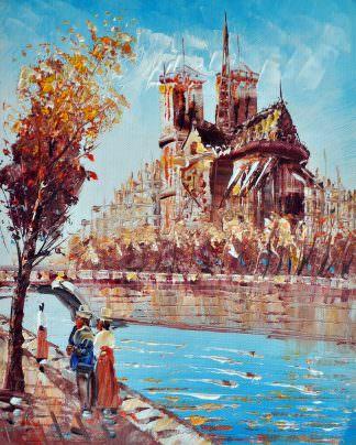 «Нотр-Дам» картина 20х25 арт.2Е31