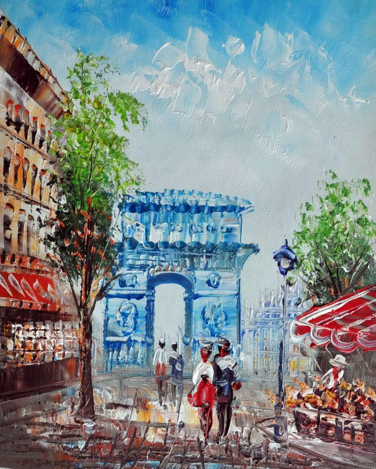 «Триумфальная арка» картина 20х25 арт.2Е36