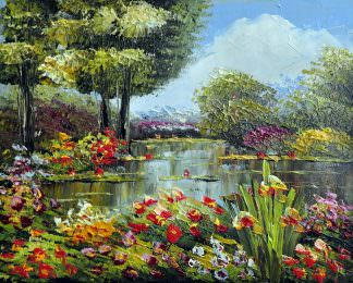 «Пейзаж» картина 20х25 арт.2Е41