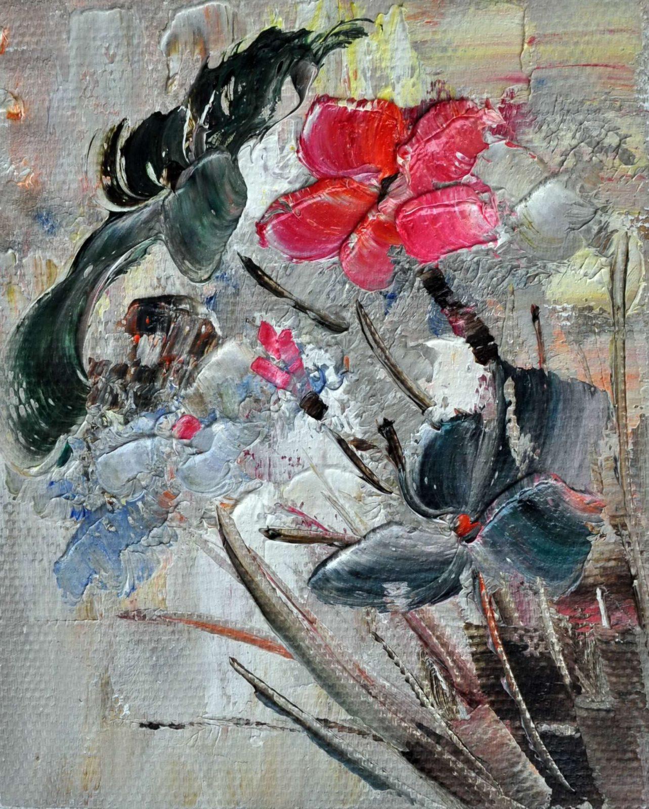 «Цветок» картина 20х25 арт.2Е44