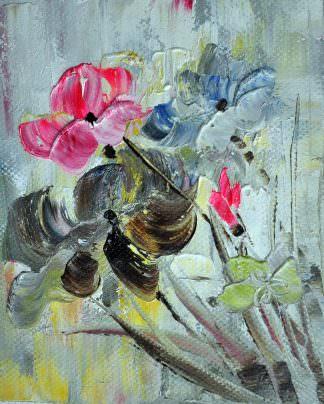 «Цветок» картина 20х25 арт.2Е45