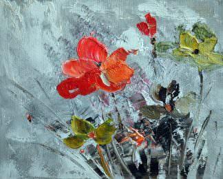 «Цветок» картина 20х25 арт.2Е48