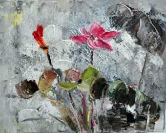 «Цветок» картина 20х25 арт.2Е49